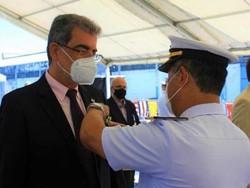 Presidente da Facepe e professor da UFPE, Fernando Jucá é condecorado pela Marinha do Brasil (Foto: Divulgação)