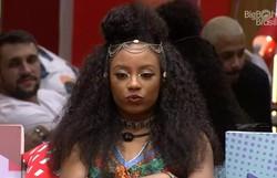 Lumena é a quinta eliminada do Big Brother Brasil com 61,31% votos (Foto: Reprodução/Gshow)