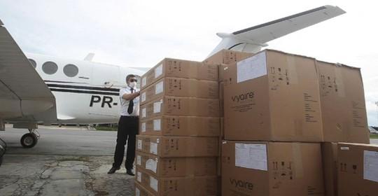 13 dos 35 aparelhos comprados da Intermed chegaram a Pernambuco, após decisão judicial (Reprodução/SEI)
