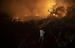 Povo mais antigo do Pantanal perde 83% do território em incêndio (Foto: Mauro Pimentel/AFP)