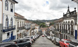 Enchente atinge pelo menos 100 casas em Ouro Preto (Foto: Pedro Vilela/MTur)