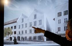 Casa que Adolf Hitler nasceu na Áustria vai virar delegacia (Foto: JOE KLAMAR / AFP )