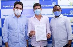 Republicanos declaram apoio a João Campos para prefeito do Recife (Foto: Nailton Bourbon / Divulgação)