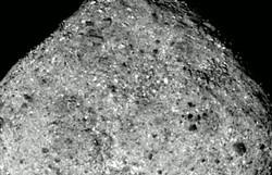 Sonda americana irá colher amostras de solo do asteroide Bennu em outubro (Foto: Divulgação/NASA)