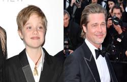 Filho de Brad Pitt quer passar confinamento com o pai (Foto: Divulgação)