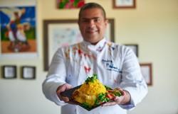 Chef distribui cuscuz, máscaras e sabonete no próximo domingo para população carente (Foto: Divulgação)