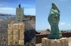 Obras são roubadas do Parque de Esculturas de Francisco Brennand, no Recife