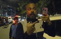 Agressor de fiscal da Vigilância Sanitária recebeu auxílio emergencial (Foto: Reprodução/TV Globo)