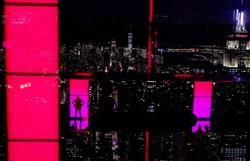 Arranha-céu abre observatório sensorial a 300 metros de altura em Nova York (Foto: TIMOTHY A. CLARY / AFP )