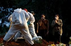 Covid-19: Brasil registra 761 mortes e 38.903 casos em 24 horas (Foto: Miguel Schincariol/AFP)