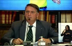 Bolsonaro volta a negar irregularidades no caso da vacina Covaxin (crédito: Reprodução/Youtube)