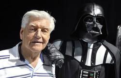 Ator britânico Dave Prowse, que interpretou Darth Vader, morre aos 85 anos (Foto: THIERRY ZOCCOLAN / AFP )