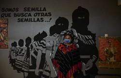 Indígenas mexicanos 'não têm nada pra comemorar' no bicentenário da Independência (Foto: Pedro Pardo/AFP)