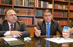 Pazuello diz que estados estão mais preparados para enfrentar a pandemia (Foto: Live da Semana - Jair Bolsonaro 08/06/2020/Reprodução )