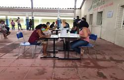 Operação Quarentena distribui cestas básicas para comerciantes informais em São Lourenço da Mata (Foto: Divulgação)
