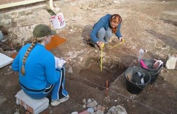 Mineiros encontram na Colômbia fósseis de mastodonte extinto há 10.000 anos (Foto: Divulgação/Governo do Paraná)