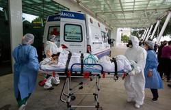 Em hospital de Manaus, ala inteira de pacientes morre por falta de oxigênio (AFP / Michael DANTAS)