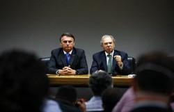 Guedes: 'Há gente em volta de Bolsonaro que tenta desviá-lo do caminho das reformas' (Foto: Carolina Antunes/PR)