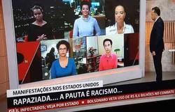 Após críticas, GloboNews apresenta jornal apenas com negros (Foto: Reprodução)