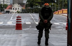 Coronavírus: Mais de 40 detidos por desobediência às medidas preventivas em Pernambuco (Foto: Tarciso Augusto/Esp.DP FOTO)