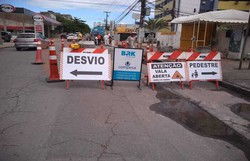Obras em Rio Doce alteram trânsito de Olinda; confira (Foto: Divulgação )