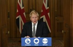 Boris Johnson anuncia novo 'lockdown' na Inglaterra para conter a Covid-19 (Foto: ALBERTO PEZZALI / POOL / AFP )