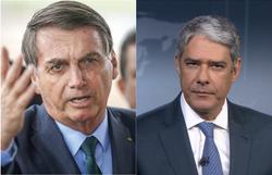 Bolsonaro diz que JN lhe chamou de genocida e vai 'tentar esclarecimento da verdade' (Fotos: Sergio Lima/AFP e Reprodução/Rede Globo)
