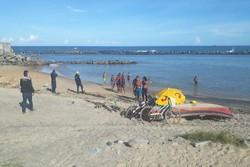 Em Olinda, banhistas e pescadores são retirados da Praia dos Milagres (Foto: Prefeitura de Olinda/Divulgação)