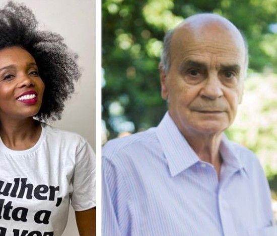 Thelma Assis conversa sobre saúde da população negra com Drauzio Varella (Marcos Rosa/Globo)