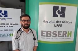 Infectologista Paulo Sérgio Ramos, chefe do Serviço de Doenças Infecciosas e Parasitárias (DIP) do Hospital das Clínicas da FPE/Ebserh.