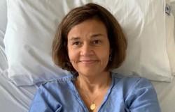 Claudia Rodrigues é internada em São Paulo (Foto: Reprodução)