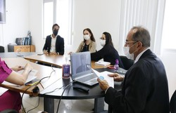 Em reunião com o Procon-PE, entidades discutem alta dos alimentos (Ray Evllyn/SJDH)