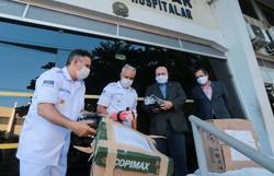 Diario entrega EPIs doados pela Ibrachina a hospitais do Recife