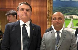 Deputado Major Vitor Hugo é sondado por Bolsonaro para o MEC (Foto: Divulgação)