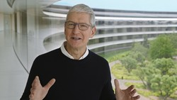 CEO da Apple diz que incêndios e furacões mostram impacto da mudança climática (Foto: Handout / Apple Inc. / AFP)