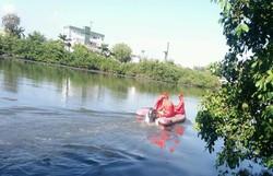 Após pular de ponte, jovem desaparece em rio; bombeiros fazem buscas  (Bombeiros/Divulgação )