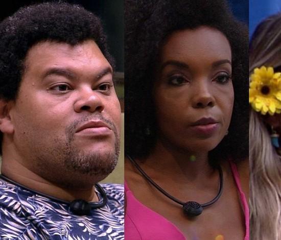 BBB20: Babu, Thelma e Gabi estão no paredão (Reprodução/Globoplay)