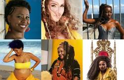 Karynna Spinelli e mais cinco artistas em edição on-line do Festival Água Doce  (Fotos: Divulgação)