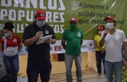 Rede de Bancos Populares de Alimentos arrecada doações para famílias em vulnerabilidade  (Foto: Darliton Silva/Comunicação Mãos Solidárias)