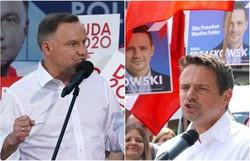 Eleições na Polônia acontecem neste domingo (Janek Skarzynski/AFP)