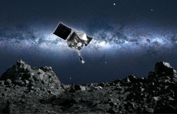 Nasa anuncia ter armazenado com sucesso amostras de asteroide na sonda Osiris-Rex (Foto: Divulgação/NASA)