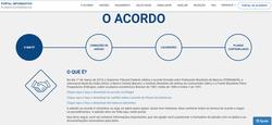 Novo site simplifica adesão ao acordo dos planos econômicos (Foto: Reprodução)