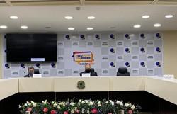 Em coletiva, Presidente do TRE-PE enfatiza trabalho para realizar segundo turno (Foto: Divulgação)