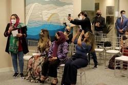 Ação humanitária acolhe juízas afegãs em Brasília (crédito: Wilson Dias/Agência Brasil)