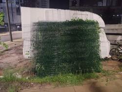 Grades furtadas da Via Mangue são recuperadas pela Guarda Municipal (Secretaria de Segurança Cidadã do Recife/Divulgação)