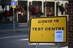 Londres alerta sobre possível retorno do confinamento em todo país (Foto: Daniel Leal-Olivas/AFP)