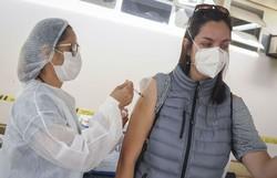 Distrito Federal bate recorde no total de vacinados em um dia (Crédito: Geovana Albuquerque/Agência Saúde)