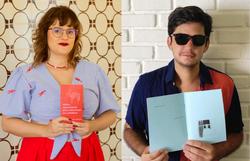 Novos escritores fomentam cena literária de PE através de editoras independentes (Fotos: Mariana Gallindo/Divulgação e Divulgação)