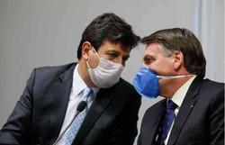 Ministério da Saúde estuda recomendação do uso de máscaras de TNT (Foto: Isaac Nórega/PR)