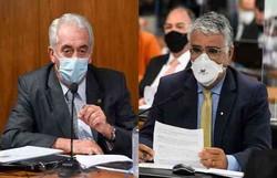 CPI: reunião é suspensa após bate boca de senadores (foto: Agência Senado )
